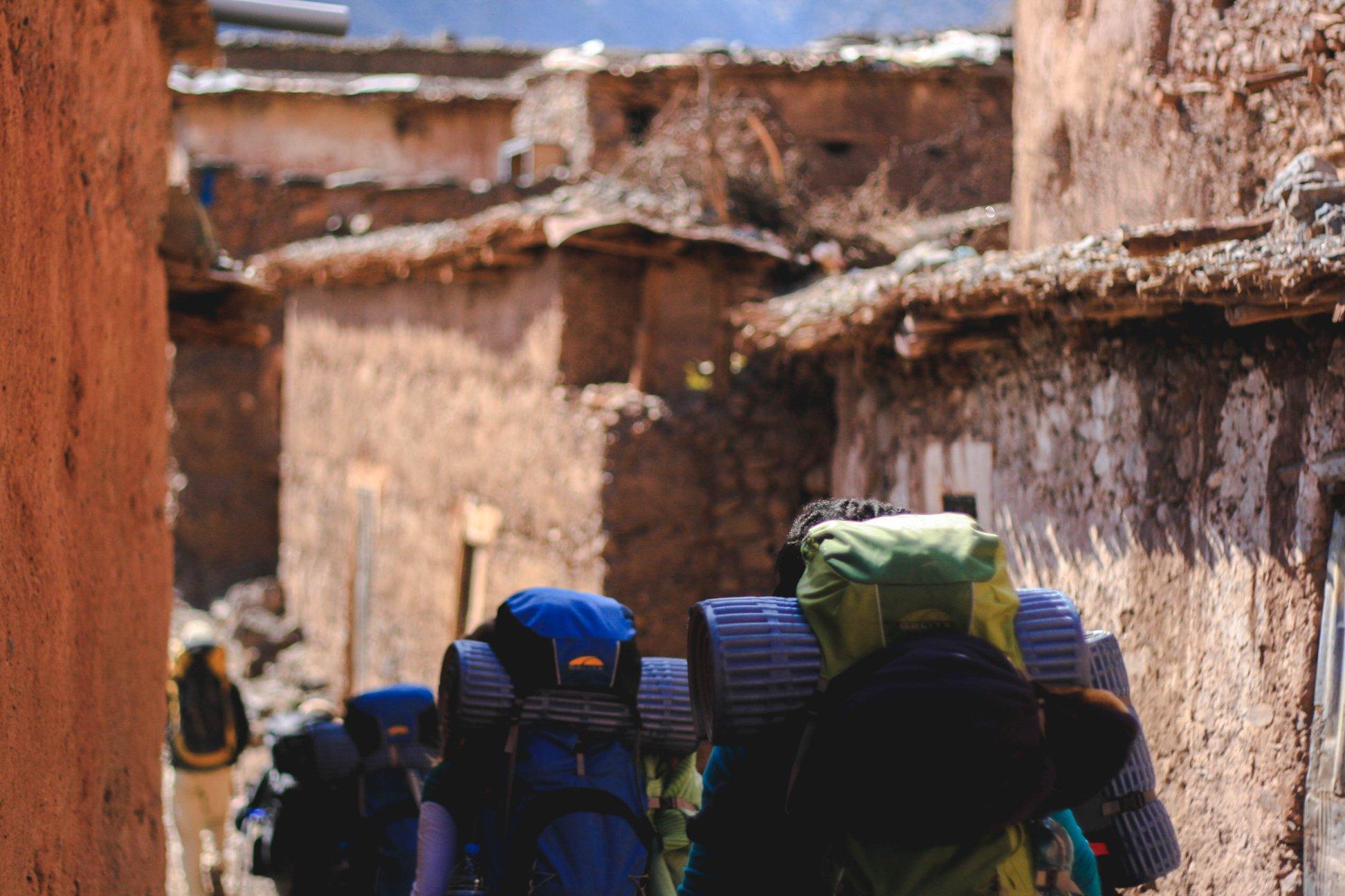 Nepal Backpacks