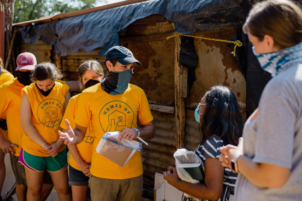 Homes of Hope team dedicates new home to Mazatlan woman