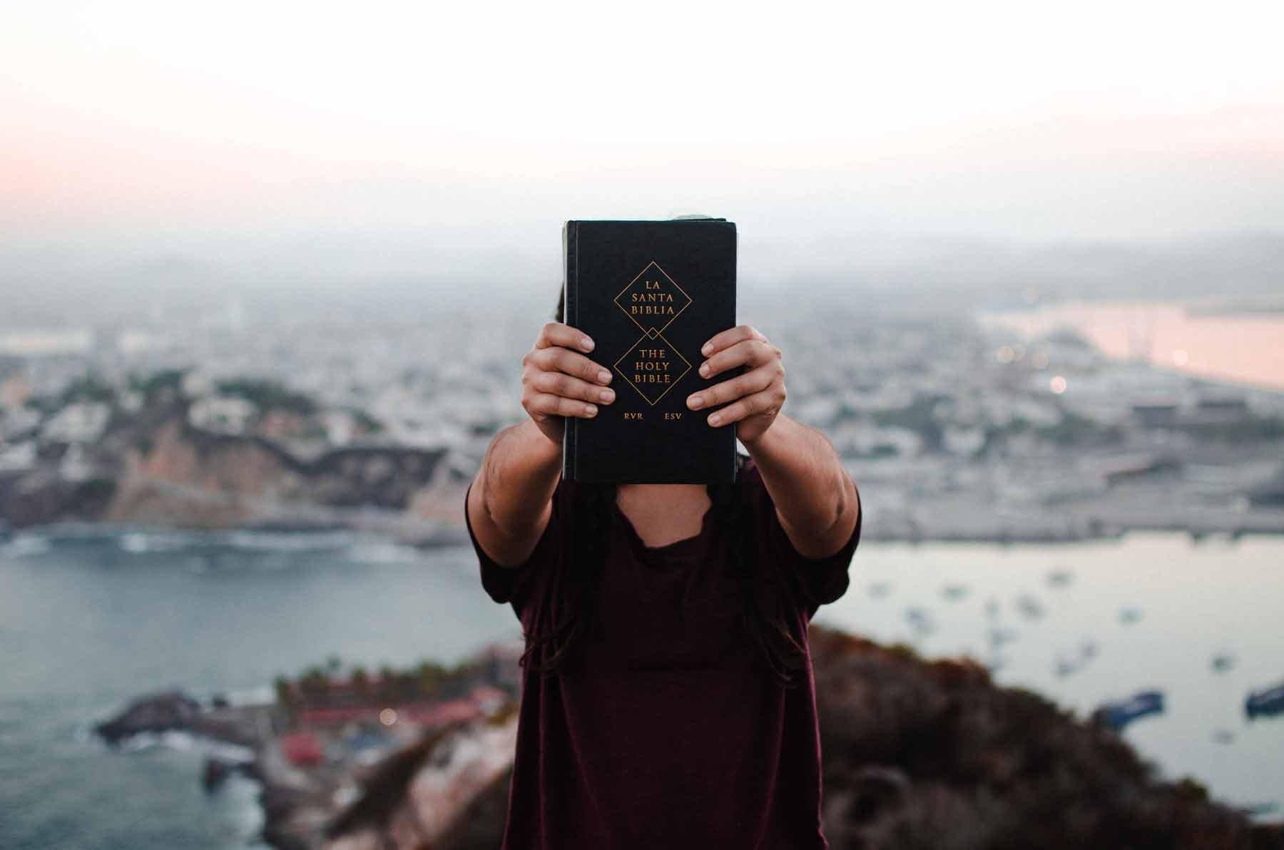 YWAM Bible holding Adventure