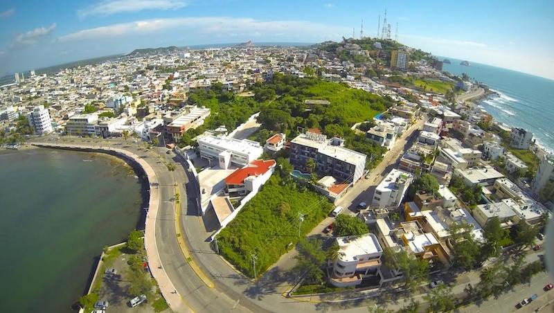 YWAM Mazatlan from above