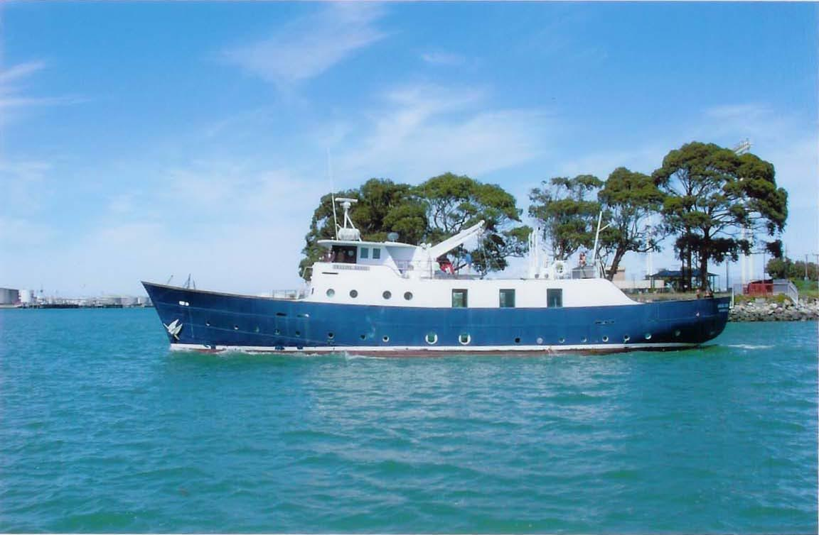 M/V Amazing Grace: YWAM Ships Mazatlan's partnership vessel
