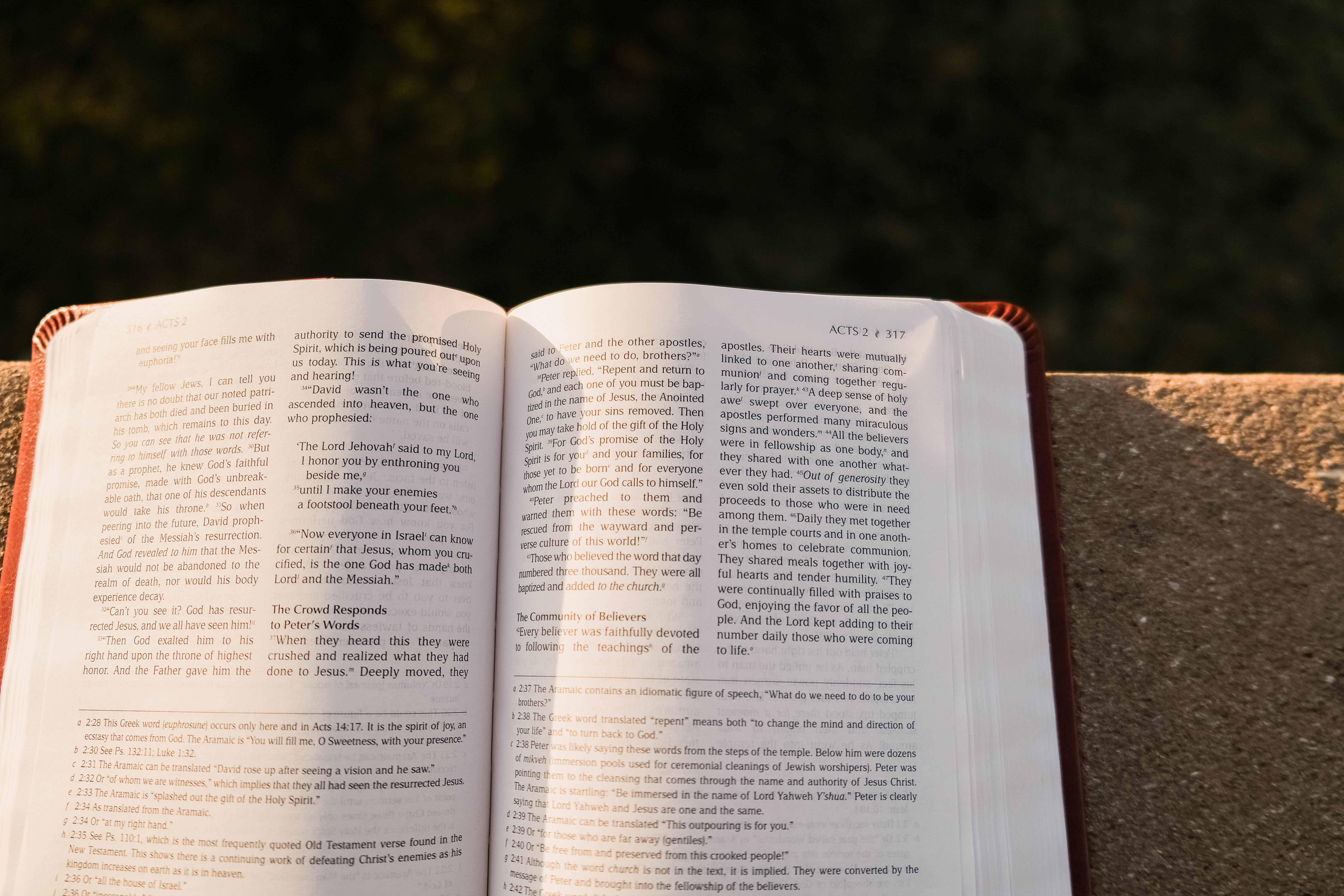 close-bible