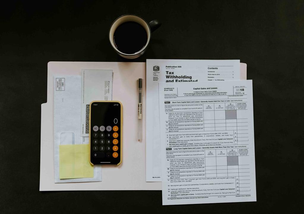 Birds eye view of preparing tax returns