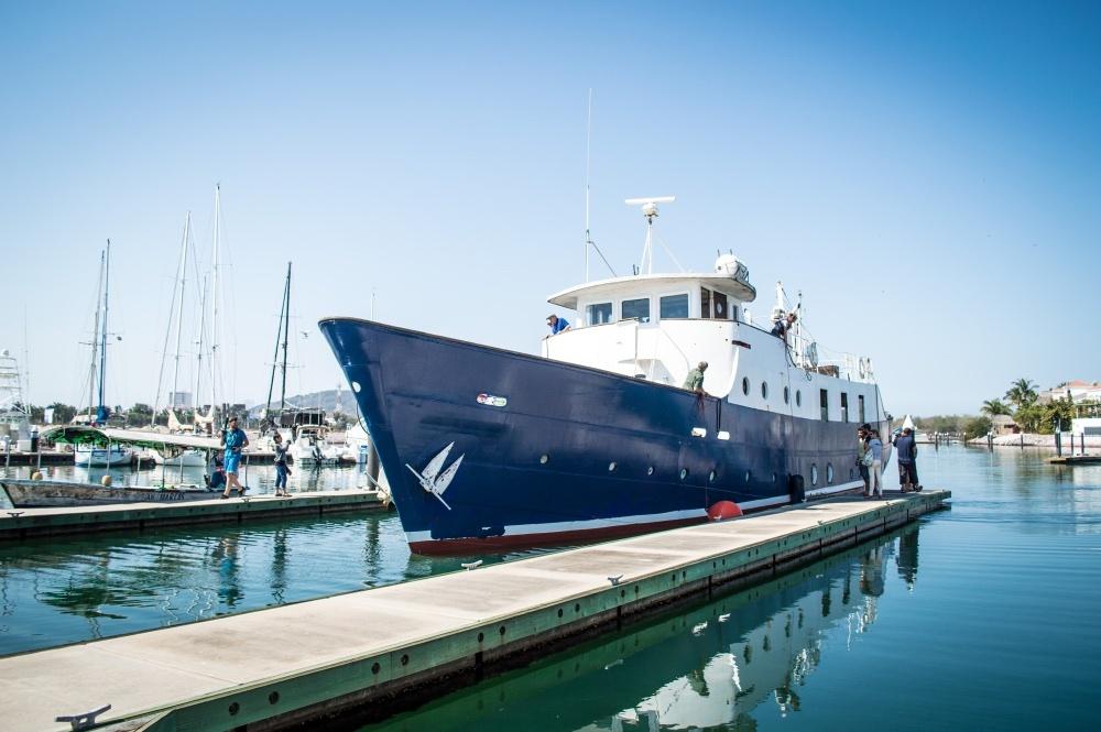 YWAM Ships Mazatlan Welcomes the M/V Amazing Grace [Photos + Video]