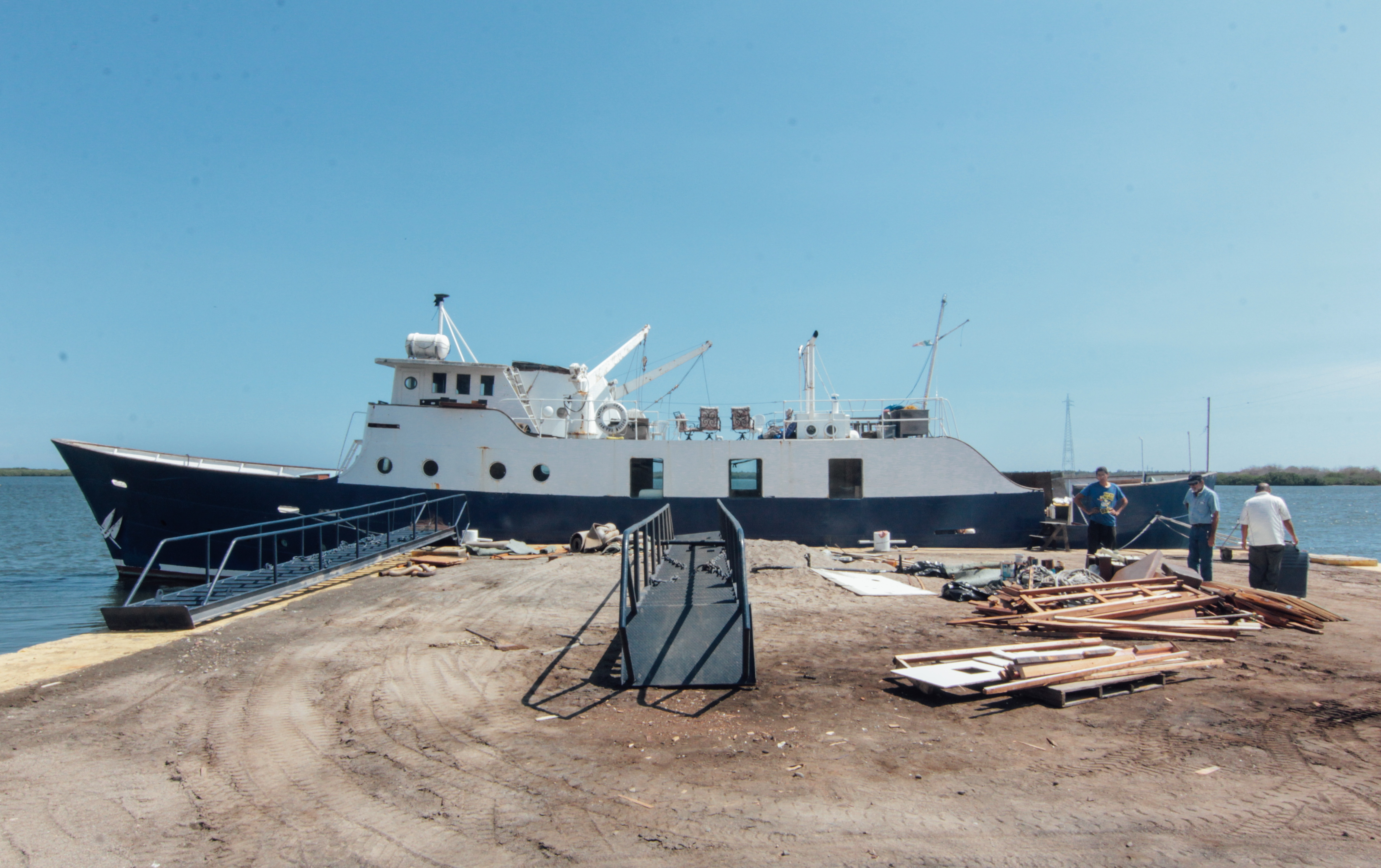 The M/V Amazing Grace goes to the Shipyard! -YWAM Ships Mazatlan
